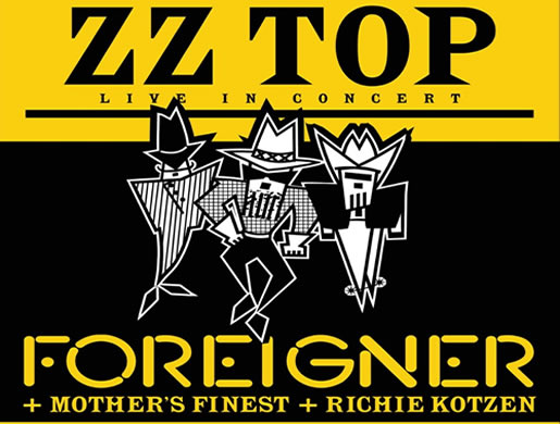 ZZ TOP, Foreigner